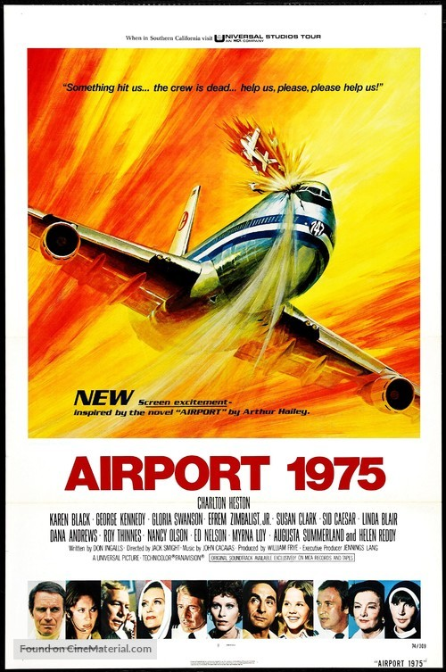 Airport 1975 - Movie Poster
