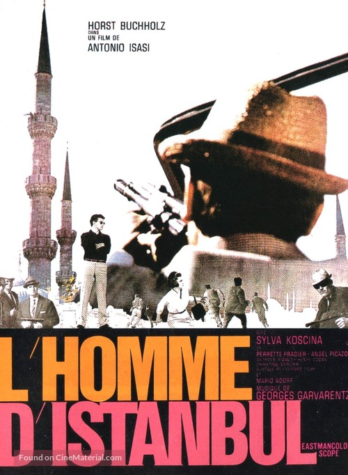Estambul 65 - French Movie Poster