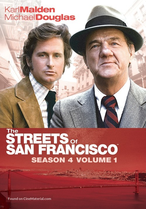 """The Streets of San Francisco"" - DVD movie cover"