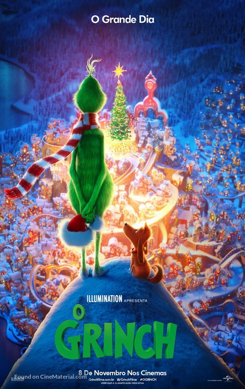 The Grinch - Brazilian Movie Poster