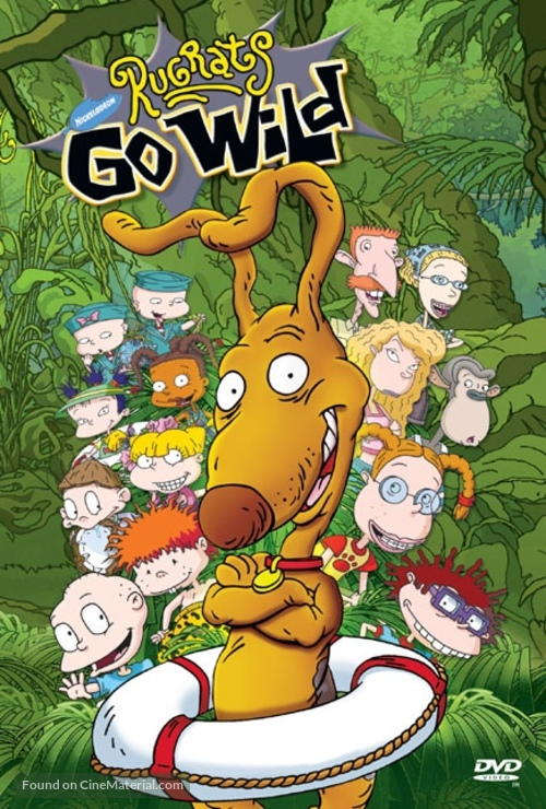 Rugrats Go Wild! - DVD movie cover