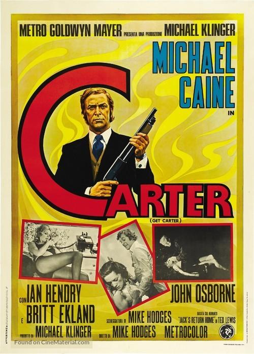Get Carter - Italian Movie Poster