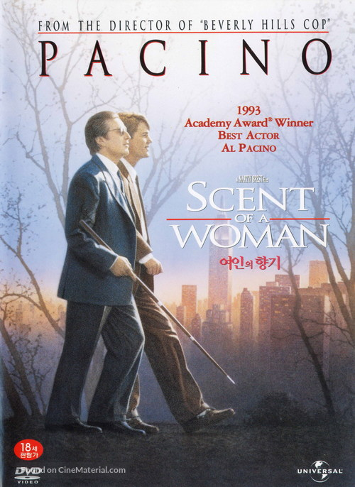 Scent of a Woman - South Korean Movie Cover