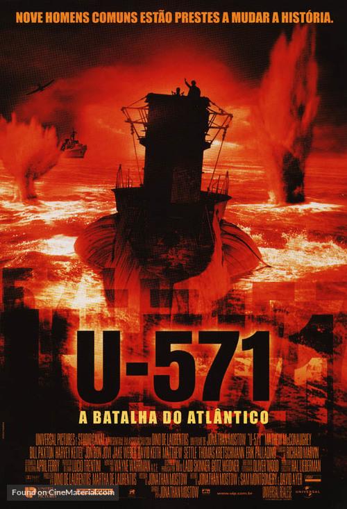 u571 brazilian movie poster