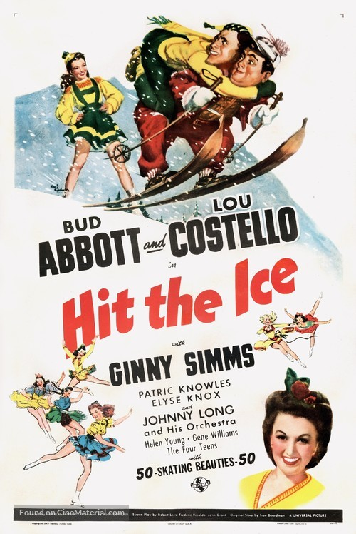 Hit the Ice - Movie Poster