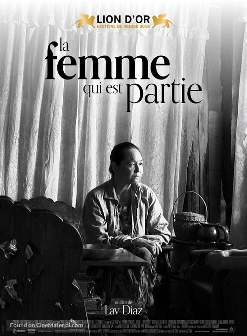 Ang babaeng humayo - French Movie Poster