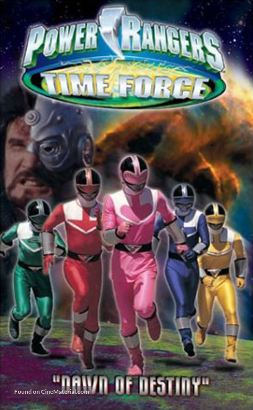 """""""Power Rangers Time Force"""" - poster"""