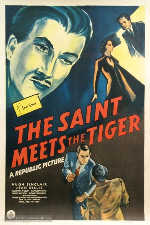 The Saint Meets the Tiger - Movie Poster