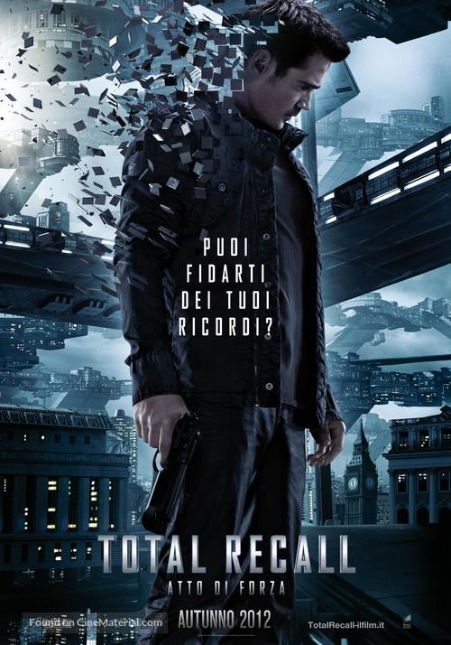 Total Recall - Italian Movie Poster