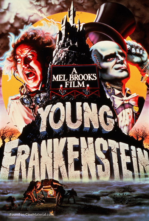 Young Frankenstein - DVD cover