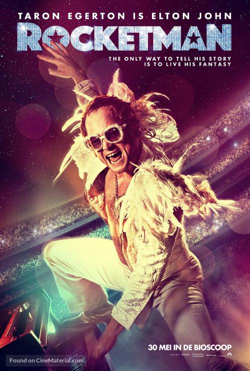 Rocketman - Dutch Movie Poster