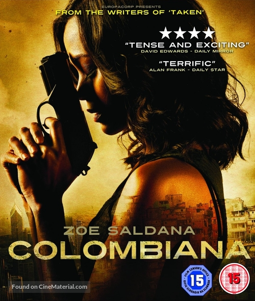 Colombiana - Movie Cover
