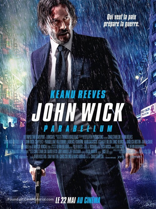 John Wick: Chapter 3 - Parabellum - French Movie Poster