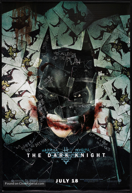 The Dark Knight - Advance movie poster