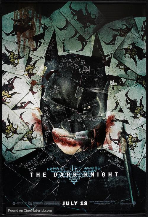 The Dark Knight - Advance poster