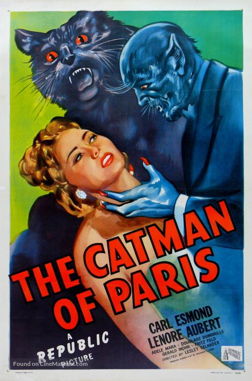 The Catman of Paris - Movie Poster