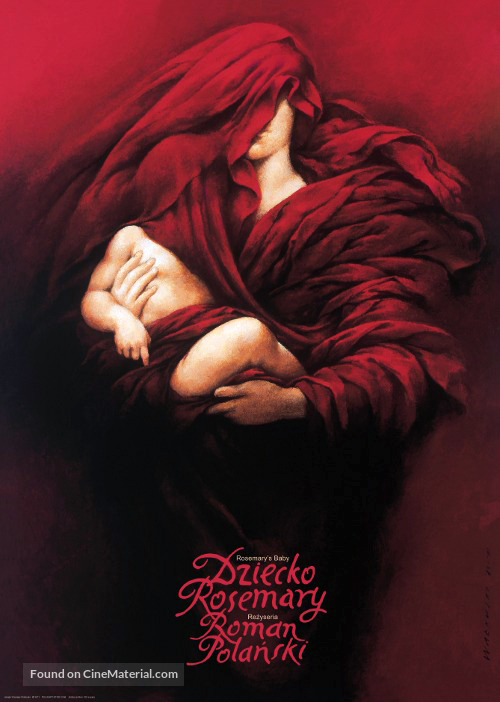 Rosemary's Baby - Polish Movie Poster