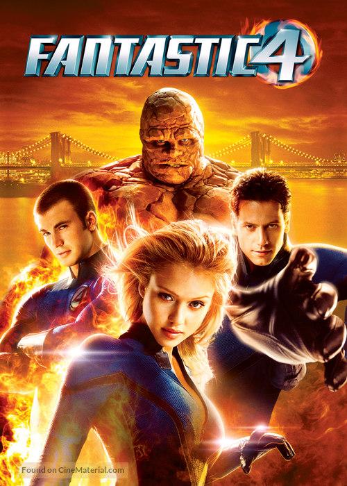 Fantastic Four - Movie Cover