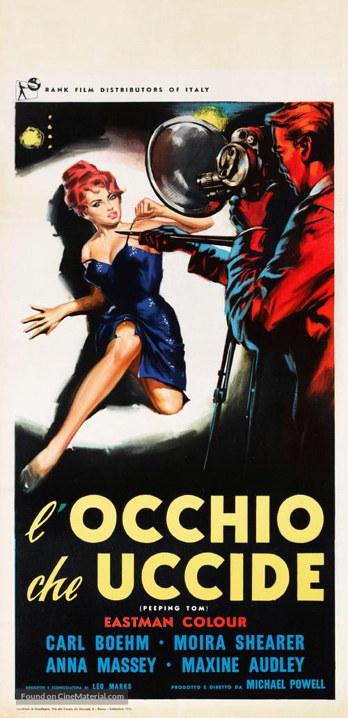 Peeping Tom - Italian Movie Poster