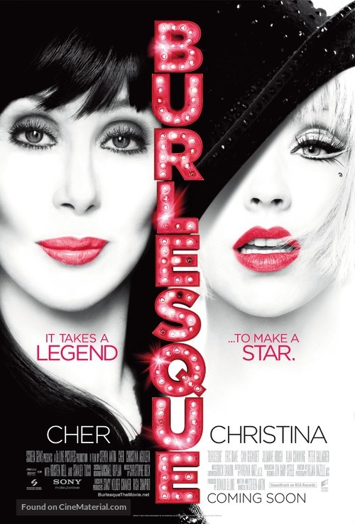 Burlesque - Movie Poster