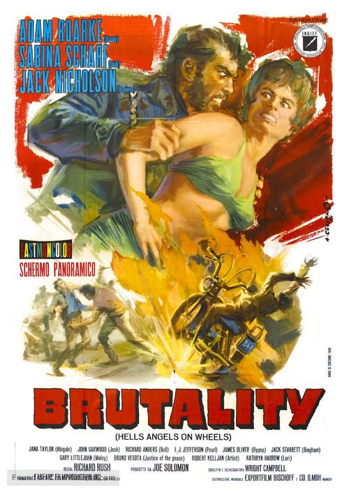 Hells Angels on Wheels - Italian Movie Poster