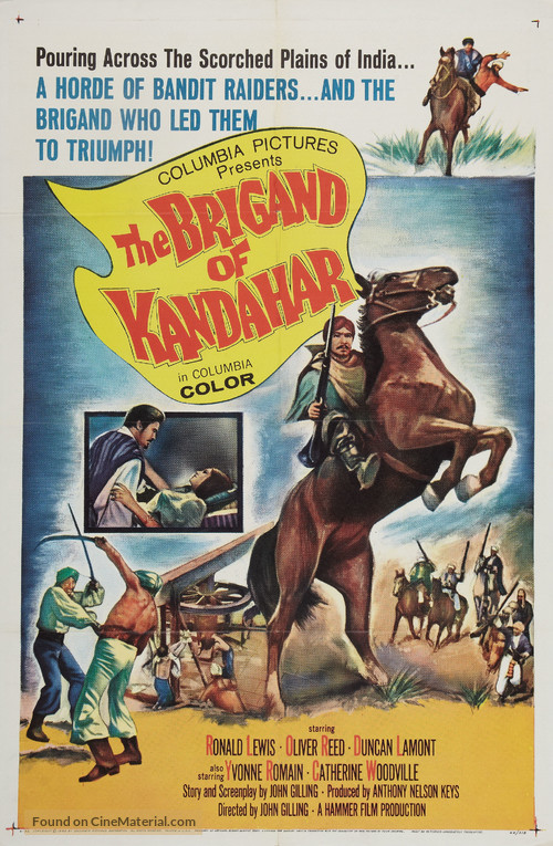 The Brigand of Kandahar - Movie Poster