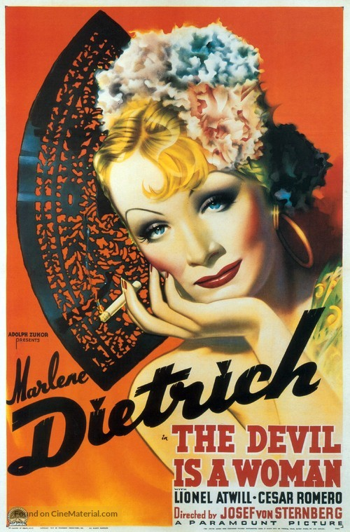 The Devil Is a Woman - Movie Poster