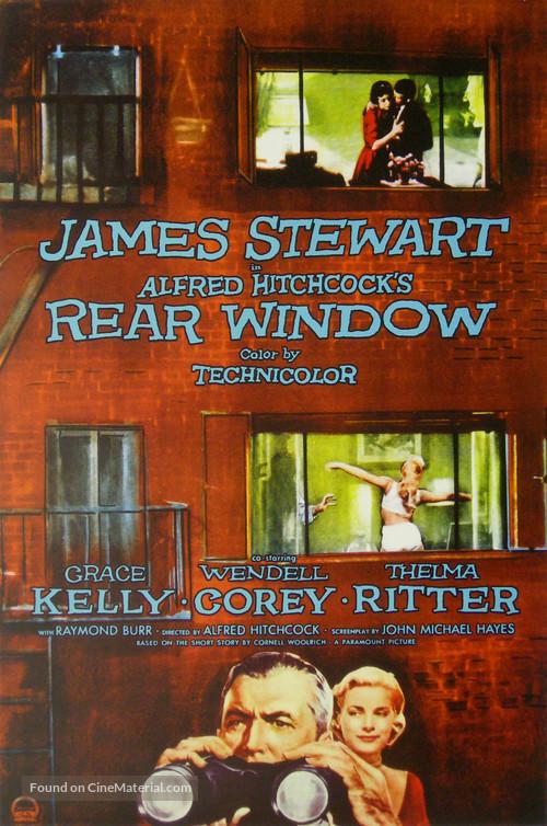 Rear Window - Movie Poster