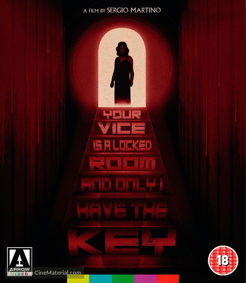Il tuo vizio è una stanza chiusa e solo io ne ho la chiave - British Blu-Ray movie cover