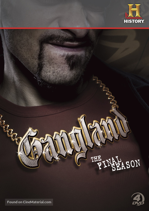 """Gangland"" - DVD movie cover"
