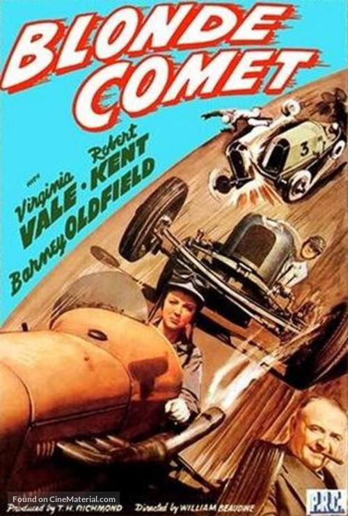 Blonde Comet - Movie Cover