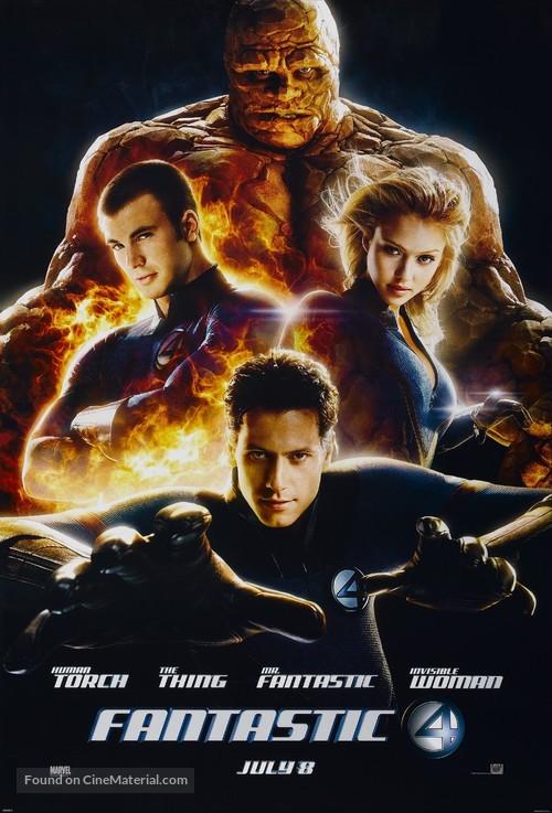 Fantastic Four - Advance movie poster