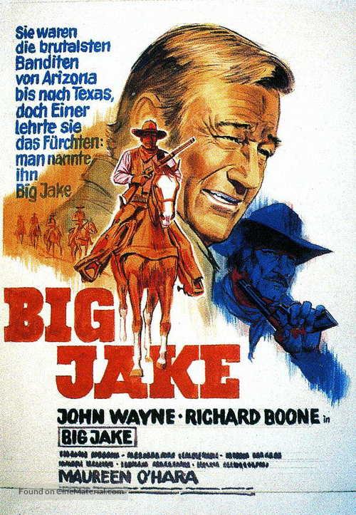 Big Jake - German Movie Poster