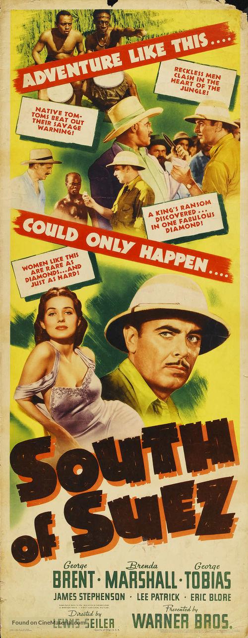South of Suez - Movie Poster