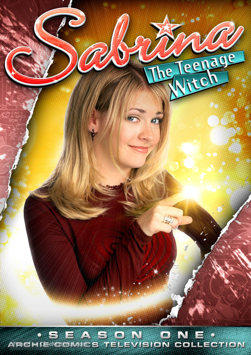 """Sabrina, the Teenage Witch"" - DVD movie cover"