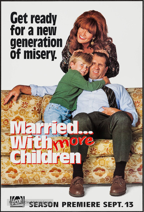 """""""Married with Children"""" - Movie Poster"""