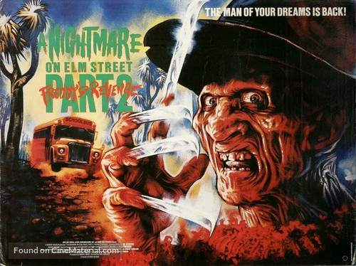A Nightmare On Elm Street Part 2: Freddy's Revenge - British Movie Poster