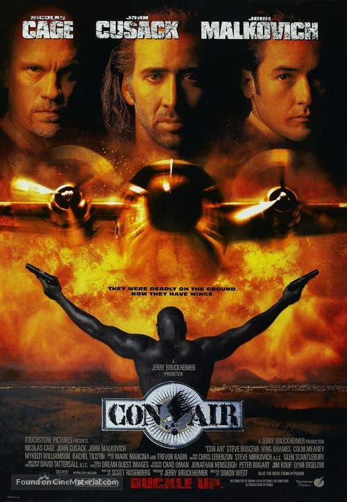 Con Air - Movie Poster
