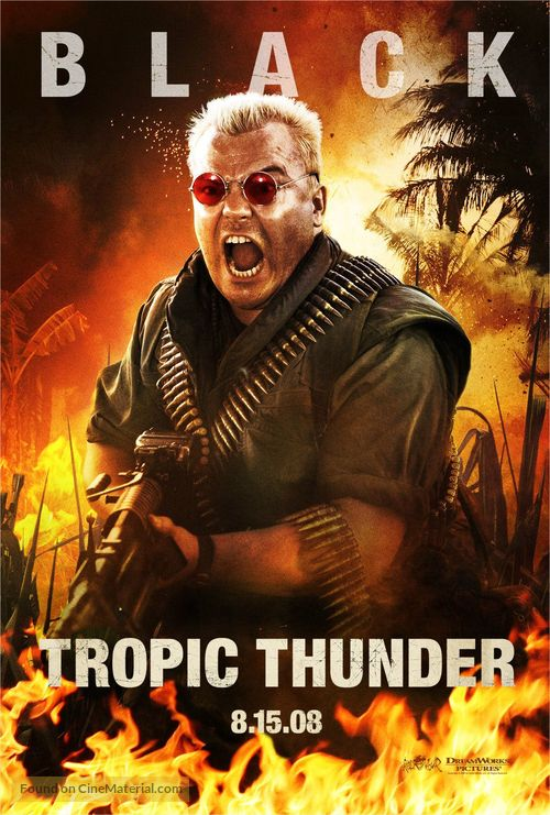 Tropic Thunder - Movie Poster