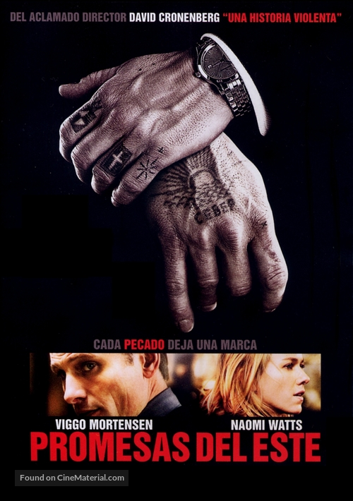 Eastern Promises - Argentinian Movie Poster