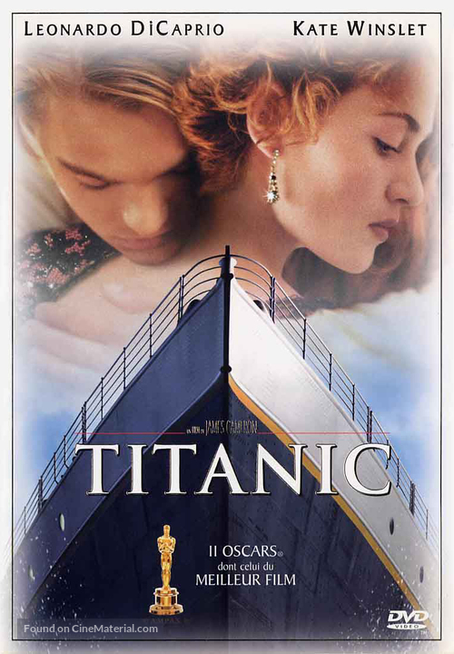 Titanic - French DVD movie cover