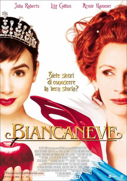 Mirror Mirror - Italian Movie Poster
