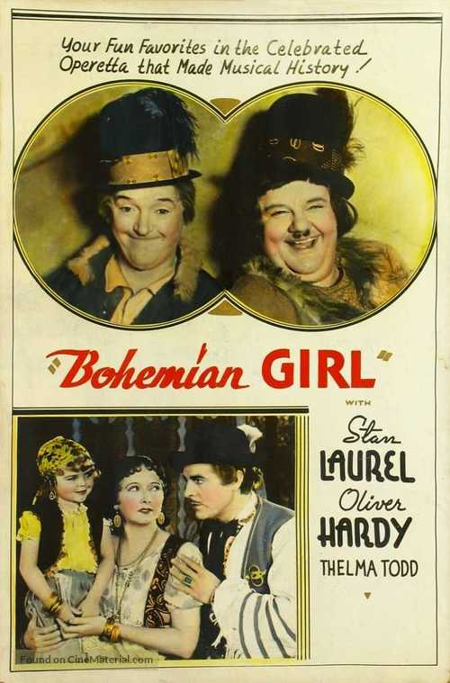 The Bohemian Girl - poster
