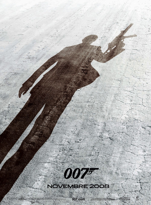 Quantum of Solace - French Movie Poster