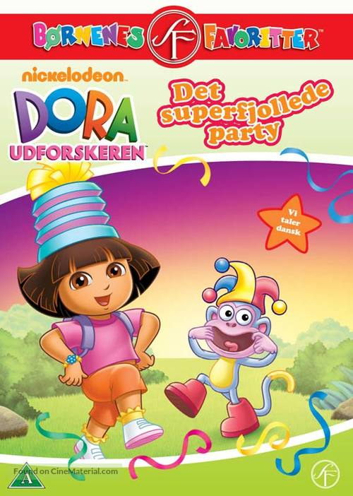 """Dora the Explorer"" - Danish DVD movie cover"