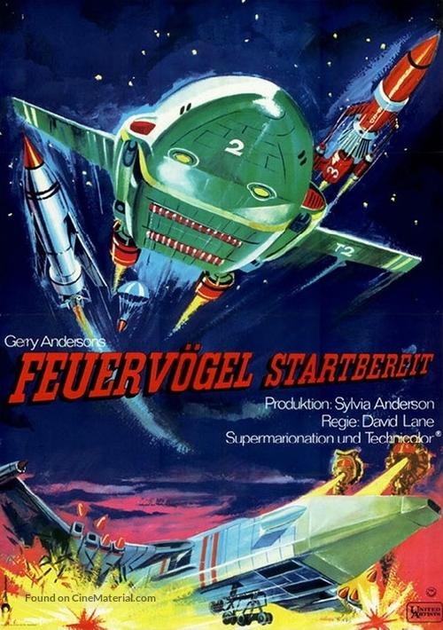 Thunderbirds Are GO - German Movie Poster