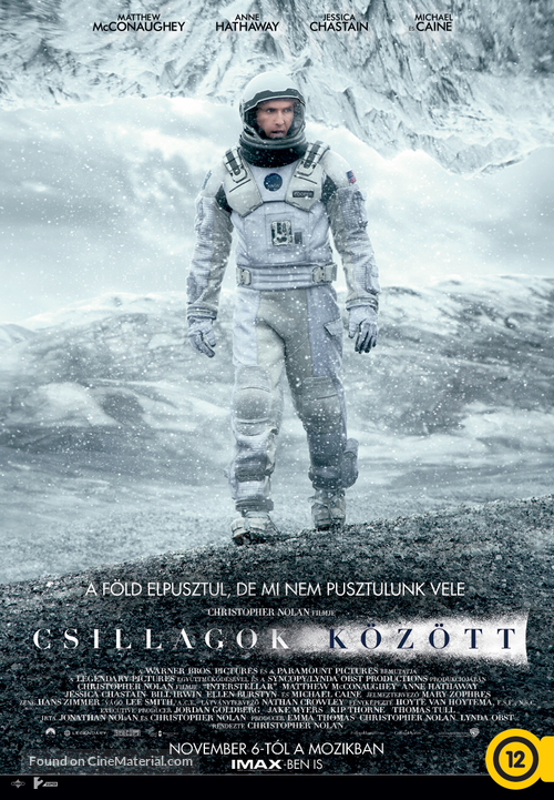 Interstellar - Hungarian Movie Poster