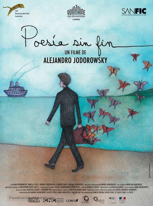 Poesía Sin Fin - Chilean Movie Poster