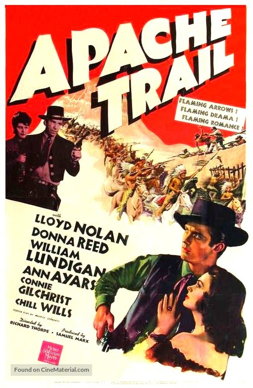 Apache Trail - Movie Poster