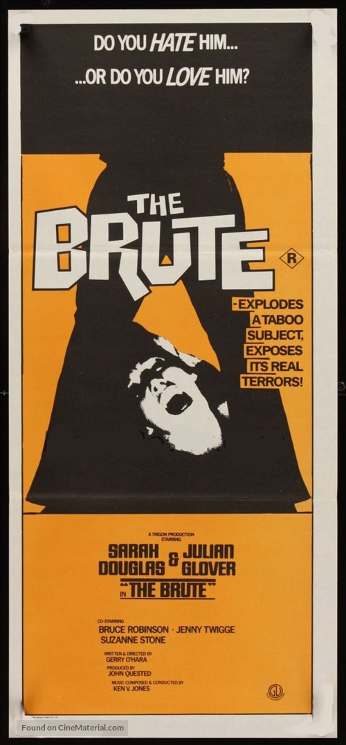 The Brute - Australian Movie Poster